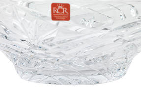 RCR Melodia Crystal Glass Centrepiece Bowl and Vase Set Thumbnail 5