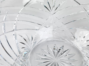 RCR Melodia Crystal Glass Centrepiece Bowl and Vase Set Thumbnail 6