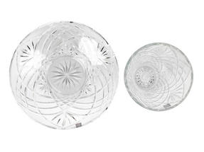 RCR Melodia Crystal Glass Centrepiece Bowl and Vase Set Thumbnail 8