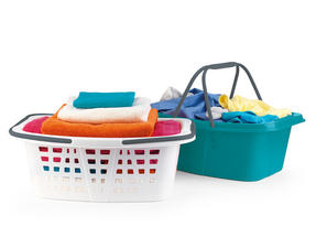Beldray 3-Tier Deluxe Clothes Airer and Laundry Basket Set Thumbnail 5