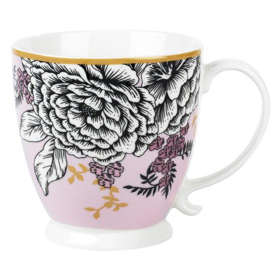 Cambridge CM05452 Kensington Aspen Heather Fine Bone China Mug