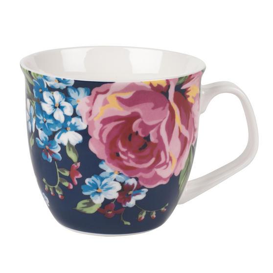 Cambridge CM057151 Oxford Bethany Navy Fine China Mug