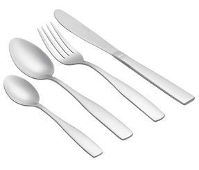 Salter BW02845 Elegance Windsor 32 Piece Cutlery Set, Stainless Steel Thumbnail 2