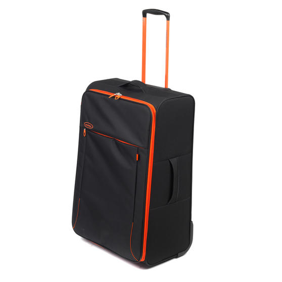 "Constellation Superlite Suitcase, 28"", Black/Orange"