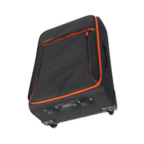 "Constellation Superlite Suitcase, 24"", Black/Orange Thumbnail 3"