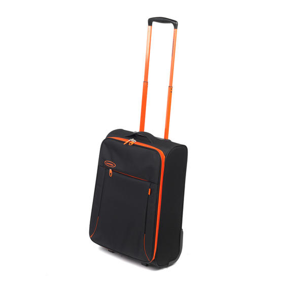"Constellation Superlite Suitcase, 18"", Black/Orange"
