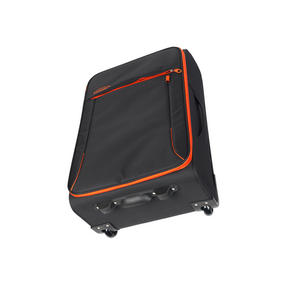 "Constellation Superlite Suitcase, 18"", Black/Orange Thumbnail 3"