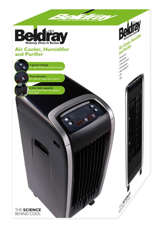 Beldray Air Cooler, Humidifier and Purifier Thumbnail 5
