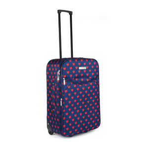 Constellation Eva 3 Piece Suitcase Set, 18/24/28?, Heart Print, Navy Thumbnail 4