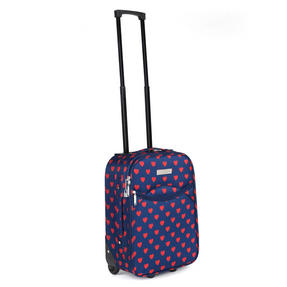 Constellation Eva 3 Piece Suitcase Set, 18/24/28?, Heart Print, Navy Thumbnail 5