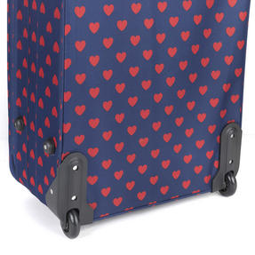 Constellation Eva 3 Piece Suitcase Set, 18/24/28?, Heart Print, Navy Thumbnail 6