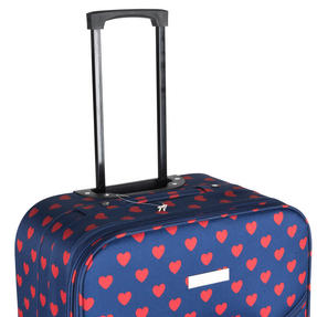Constellation Eva 3 Piece Suitcase Set, 18/24/28?, Heart Print, Navy Thumbnail 7