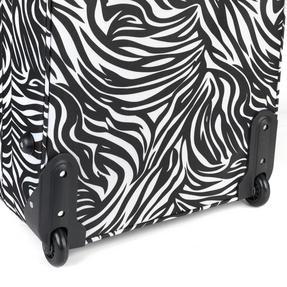 "Constellation Eva 3 Piece Suitcase Set, 18"", 24"" & 28"", Zebra Print, Pink Thumbnail 6"