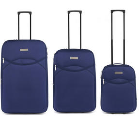 Constellation Eva 3 Piece Suitcase Set, 18/24/28?, Navy Thumbnail 2