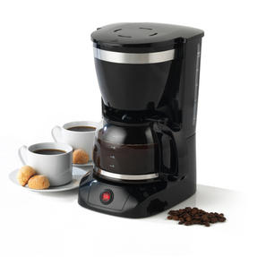 Salter Coffee Maker with Keep Warm Function, Black and Stainless Steel