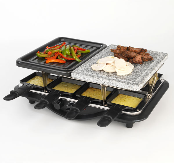 stir swiss party grill raclette cookware no1brands4you. Black Bedroom Furniture Sets. Home Design Ideas