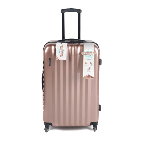 "Constellation Athena ABS Hard Shell Suitcase, 28"", Rose Gold"