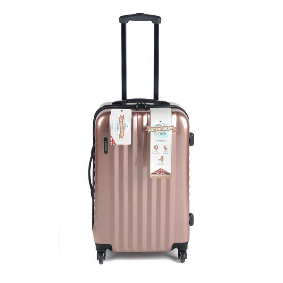 "Constellation Athena ABS Hard Shell Suitcase, 24"", Rose Gold"