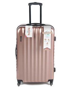 "Constellation Athena ABS Hard Shell 3 Piece Suitcase Set, 20"", 24"" & 28"", Rose Gold Thumbnail 2"