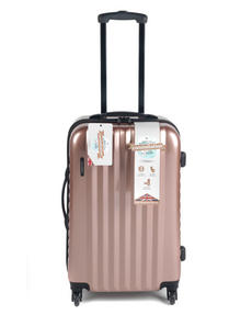 "Constellation Athena ABS Hard Shell 3 Piece Suitcase Set, 20"", 24"" & 28"", Rose Gold Thumbnail 3"