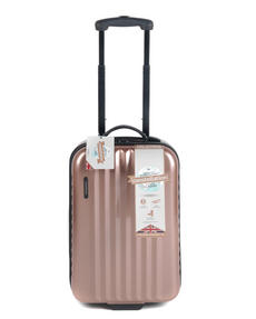 "Constellation Athena ABS Hard Shell 3 Piece Suitcase Set, 20"", 24"" & 28"", Rose Gold Thumbnail 4"