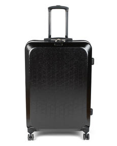 "Constellation Mosaic Effect ABS Hard Shell Suitcase, 28"", Black Thumbnail 3"