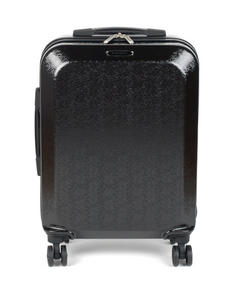 "Constellation Mosaic Effect ABS Hard Shell Suitcase, 28"", Black Thumbnail 4"