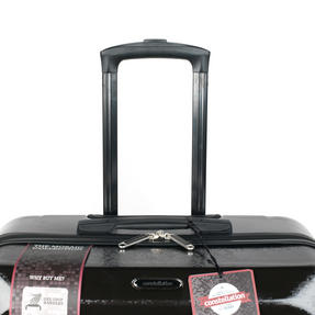 "Constellation Mosaic Effect ABS Hard Shell Suitcase, 28"", Black Thumbnail 7"