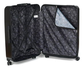 "Constellation Mosaic Effect ABS Hard Shell Suitcase, 28"", Black Thumbnail 9"