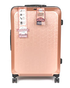 "Constellation Mosaic Effect ABS Hard Shell Suitcase, 28"", Rose Gold Thumbnail 4"