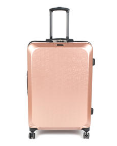"Constellation Mosaic Effect ABS Hard Shell Large Suitcase, 28"", Rose Gold Thumbnail 3"