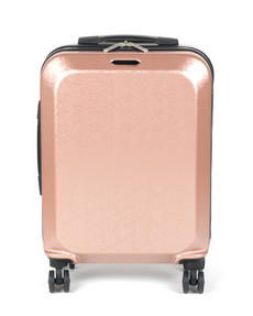 "Constellation Mosaic Effect ABS Hard Shell Large Suitcase, 28"", Rose Gold Thumbnail 4"