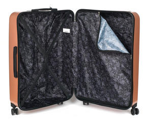 "Constellation Mosaic Effect ABS Hard Shell Large Suitcase, 28"", Rose Gold Thumbnail 9"