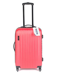 "Constellation Eclipse ABS Hard Shell Suitcase Set, 20"", 24"" & 28"", Pink Thumbnail 3"