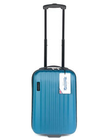 "Constellation Eclipse ABS Hard Shell Suitcase Set, 20"", 24"" & 28"", Blue Thumbnail 4"