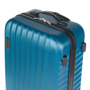 "Constellation Eclipse ABS Hard Shell Suitcase Set, 20"", 24"" & 28"", Blue Thumbnail 6"
