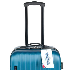 "Constellation Eclipse ABS Hard Shell Suitcase Set, 20"", 24"" & 28"", Blue Thumbnail 7"