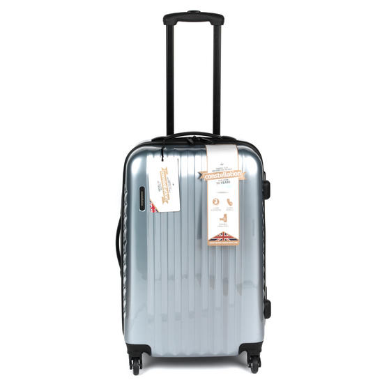 "Constellation Athena ABS Hard Shell Suitcase, 24"", Silver"