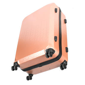 "Constellation Mosaic Effect ABS Hard Shell Small Cabin Approved Suitcase, 20"", Rose Gold Thumbnail 7"