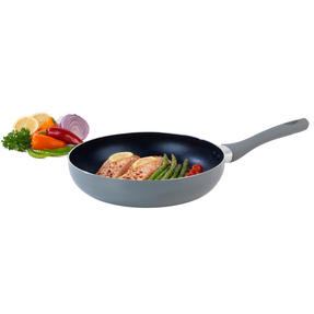 Salter Crystalstone Collection Frying Pan, 28cm, Grey