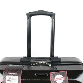 "Constellation Mosaic Two Piece Suitcase Set, 20""/28"", Black Thumbnail 4"