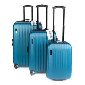 "Constellation Eclipse 4 Wheel Suitcase, 24"", Blue Thumbnail 7"
