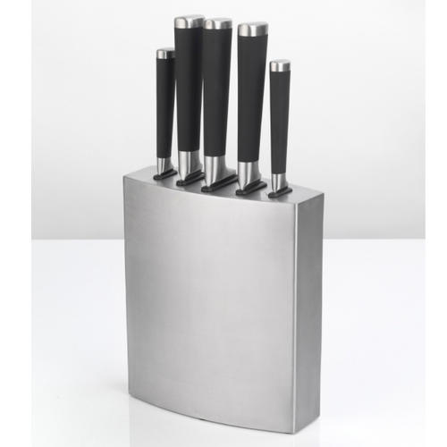 Antony Worrall Thompson 5 Piece Knife Block Stainless Steel