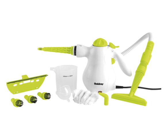 Beldray Lime Handheld Steam Cleaner