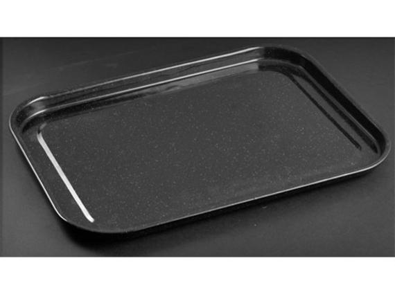 go cook vitreous enamel 40cm baking tray cookware. Black Bedroom Furniture Sets. Home Design Ideas
