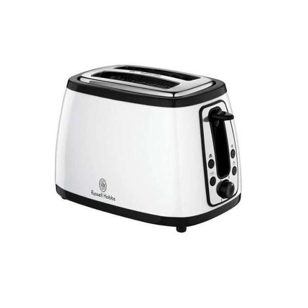russell hobbs heritage cotton white 2 slice toaster 18533 kettles toasters no1brands4you. Black Bedroom Furniture Sets. Home Design Ideas