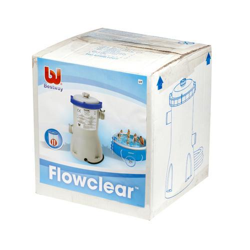 bestway flowclear filter pump instructions