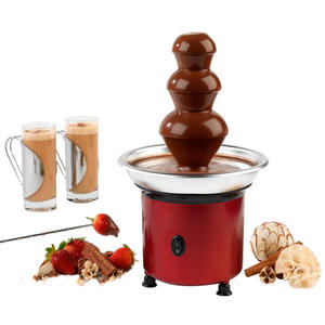 Giles & Posner Mini Red Chocolate Fountain