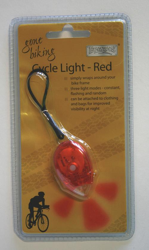 Red Cycle Light