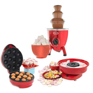 American Originals Party Pack 31 - Chocolate Fountain, Candy Floss & Cake Pop Machines